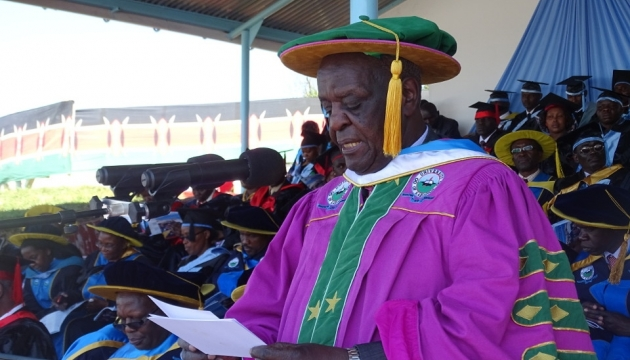 Prof Richard Musangi - UoK Chancellor