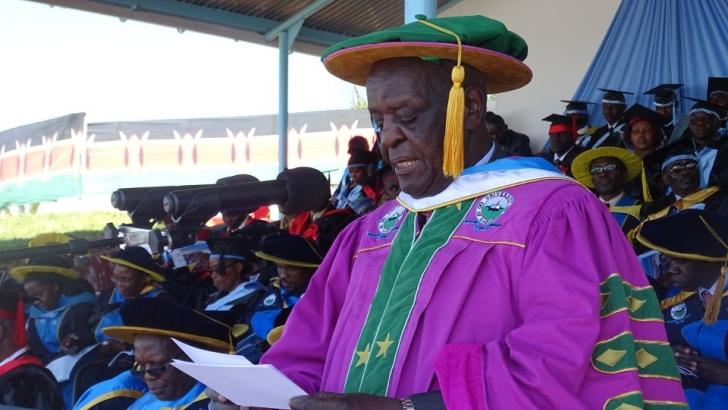 Prof Richard Musangi - UoK Chancellor